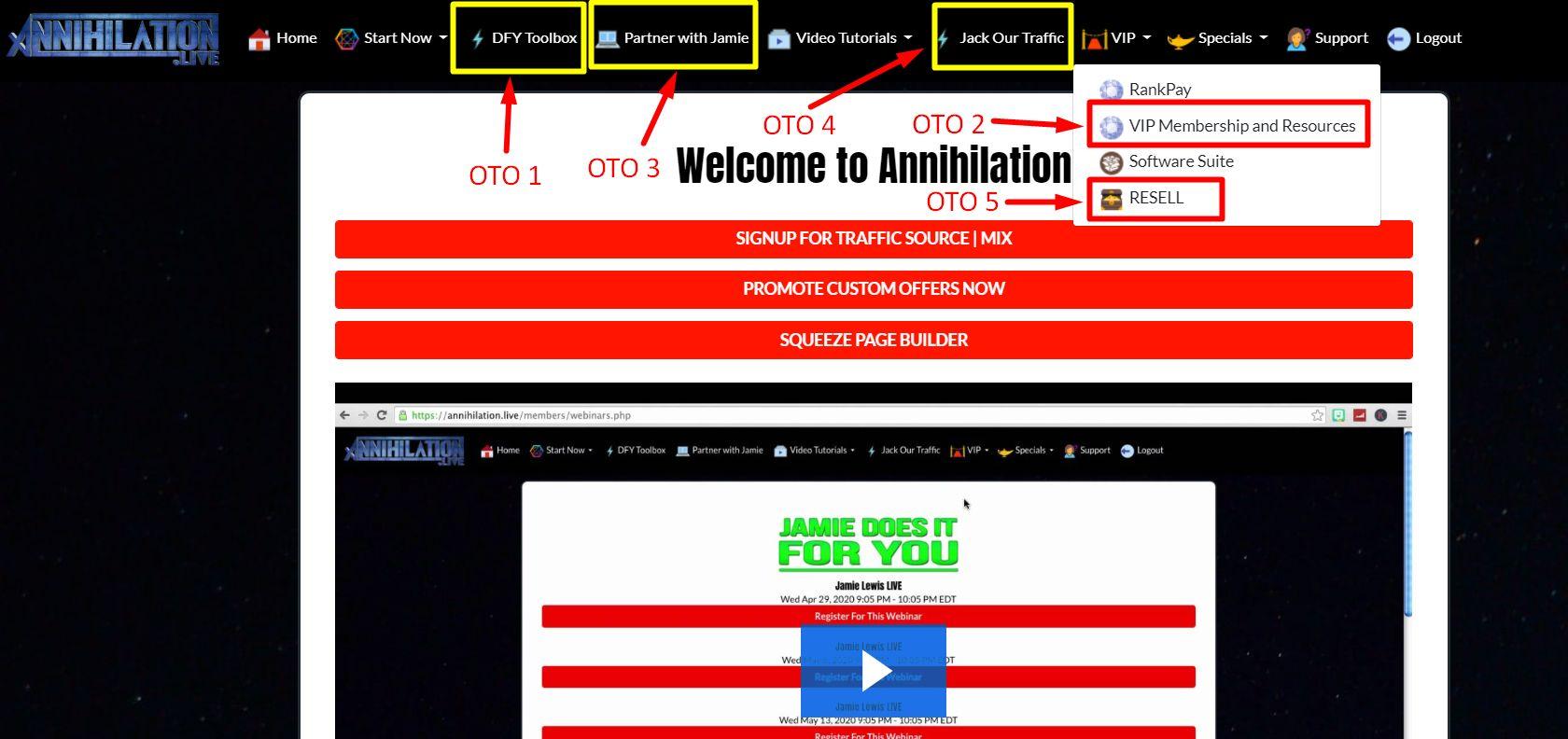 Annihilation-OTO