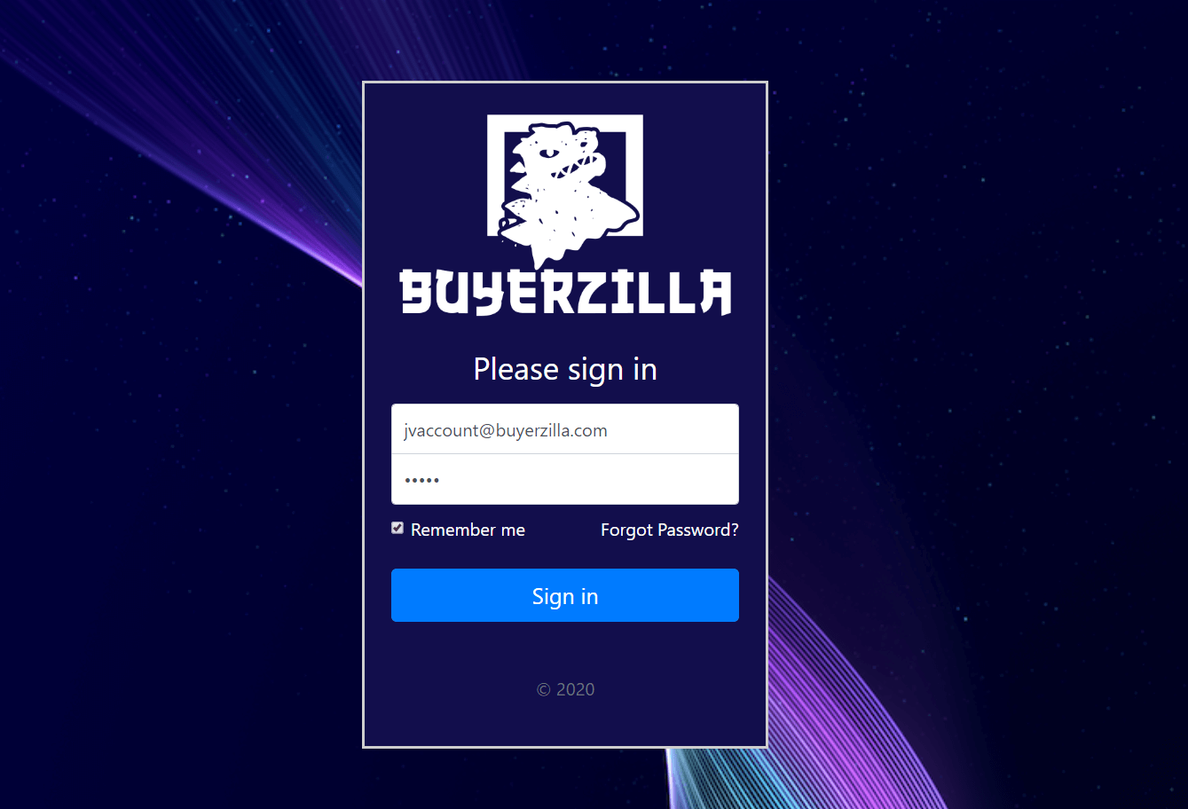 Buyerzilla-1-Login